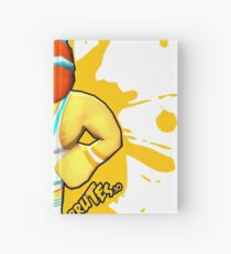 Brutes.io (Gymbrute Baller Yellow) Hardcover Journal