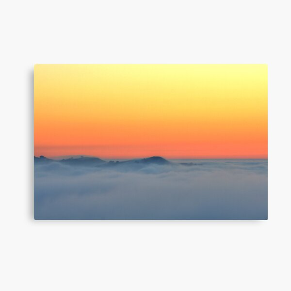 When The Fog Rolls In Canvas Print