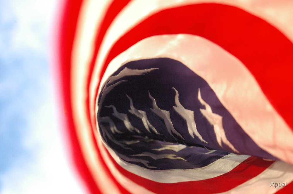 US Flag by Appel