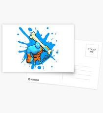 Brutes.io (Brute Caveman Blue) Postcards