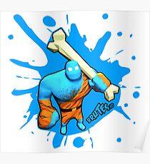 Brutes.io (Brute Caveman Blue) Poster