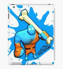 Brutes.io (Brute Caveman Blue) iPad Case/Skin