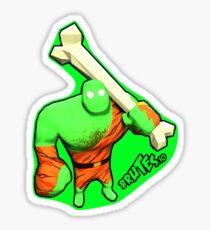 Brutes.io (Brute Caveman Green) Sticker
