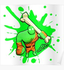 Brutes.io (Brute Caveman Green) Poster