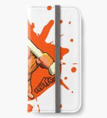 Brutes.io (Brute Caveman Orange) iPhone Wallet/Case/Skin