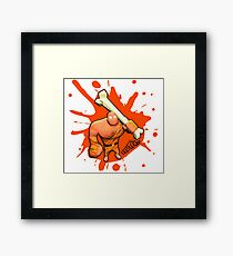 Brutes.io (Brute Caveman Orange) Framed Print