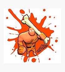 Brutes.io (Brute Caveman Orange) Photographic Print