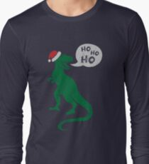 Ho Ho Ho - Merry T-Rex-Mas Long Sleeve T-Shirt