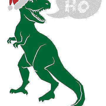 Ho Ho Ho - Merry T-Rex-Mas by lbutler0000107