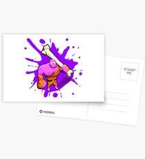 Brutes.io (Brute Caveman Pink) Postcards