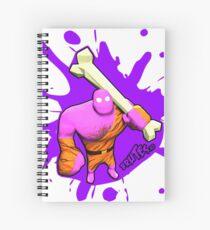 Brutes.io (Brute Caveman Pink) Spiral Notebook