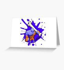 Brutes.io (Brute Caveman Purple) Greeting Card