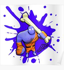 Brutes.io (Brute Caveman Purple) Poster