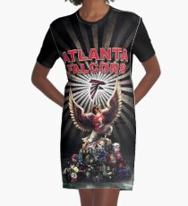 Rise Up Atlanta Graphic T-Shirt Dress