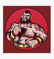 Zangief - Street Fighter Photographic Print