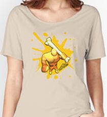 Brutes.io (Brute Caveman Yellow) Women's Relaxed Fit T-Shirt