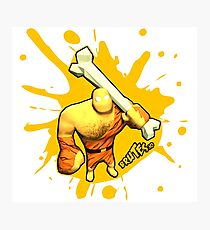Brutes.io (Brute Caveman Yellow) Photographic Print