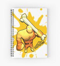 Brutes.io (Brute Caveman Yellow) Spiral Notebook