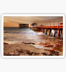 The Queenscliff Pier and Lifeboat Complex, Victoria Sticker