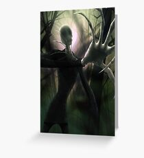 Him (the Slender Man) Greeting Card