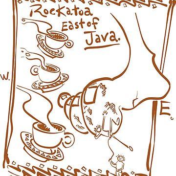 Rockatoa East of Java by DaleCody