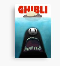 Ghibli Jaws Canvas Print