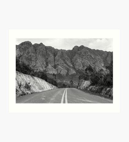 Tasmanian Southwest Wilderness Art Print