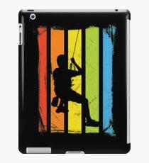 Rainbow Rock Climbing Distressed iPad Case/Skin