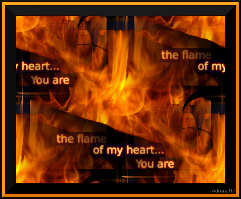 Flame of My Heart by Adrena87