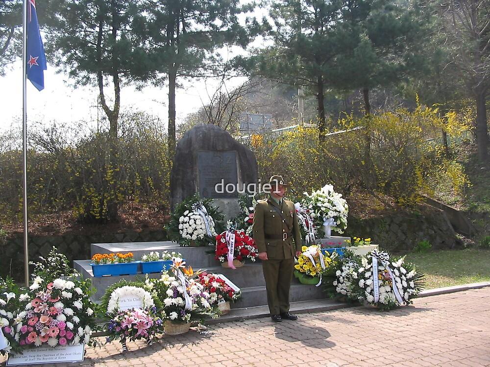 War Memorial - South Korea - New Zealand - 2006 by dougie1
