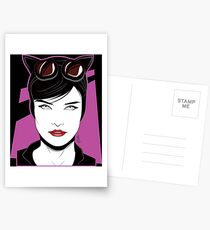 Cat Woman - Nagel Style Postcards