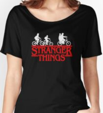 Stranger Things Bike Women's Relaxed Fit T-Shirt