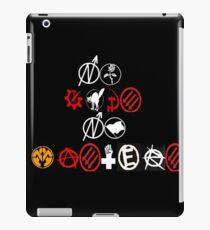 anarchist resistance  iPad Case/Skin