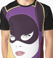 60s Bat Girl - Nagel Style Graphic T-Shirt