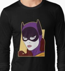 60s Bat Girl - Nagel Style Long Sleeve T-Shirt