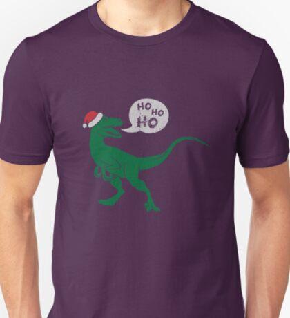 Ho Ho Ho - Merry Raptor-Mas T-Shirt