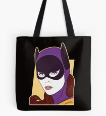 60s Bat Girl - Nagel Style Tote Bag