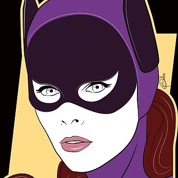 60s Bat Girl - Nagel Style by supersiblings