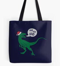 Ho Ho Ho - Merry Raptor-Mas Tote Bag