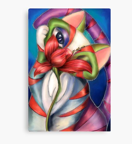 Libby and the Lily Canvas Print