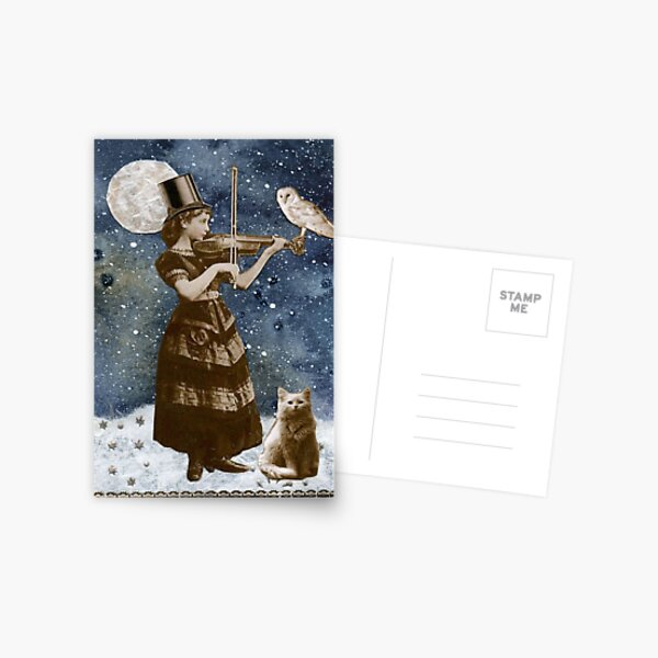 Snowfall Serenade Postcard