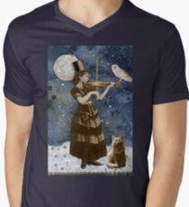 Snowfall Serenade V-Neck T-Shirt