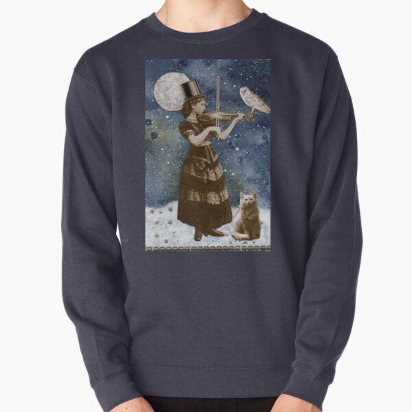 Snowfall Serenade Pullover Sweatshirt
