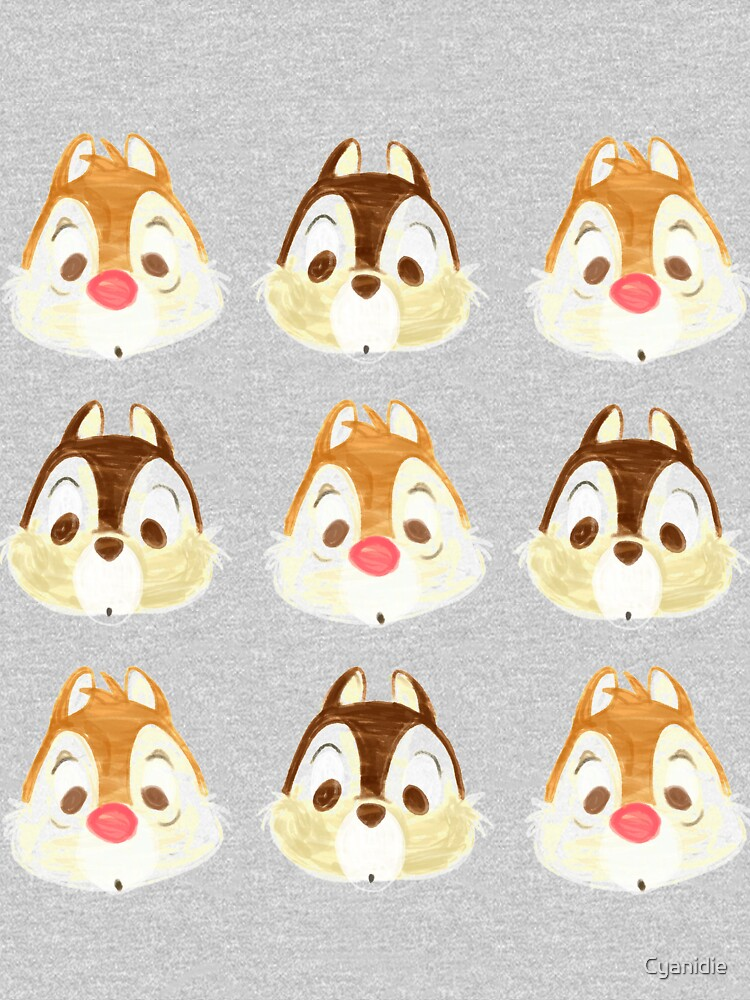Chip and Dale! by Cyanidie