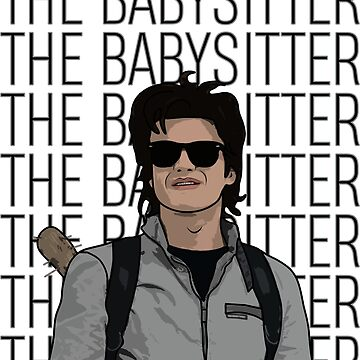 Stranger Things Inspired Steve Harrington The Babysitter by ccheshiredesign