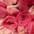 Pink Rose Bouquet by silverdragon