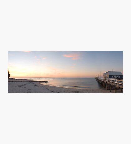 Busselton Pier at sunset Photographic Print