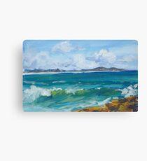 Bartletts Beach 2 - plein air Canvas Print