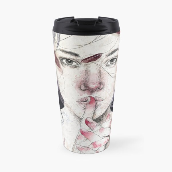 MIRROR by Elenagarnu Travel Mug
