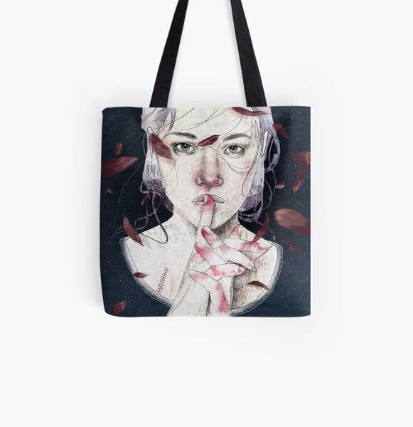 MIRROR by Elenagarnu All Over Print Tote Bag
